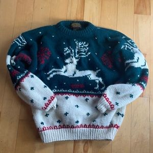 Eddie Bauer vintage Christmas wool